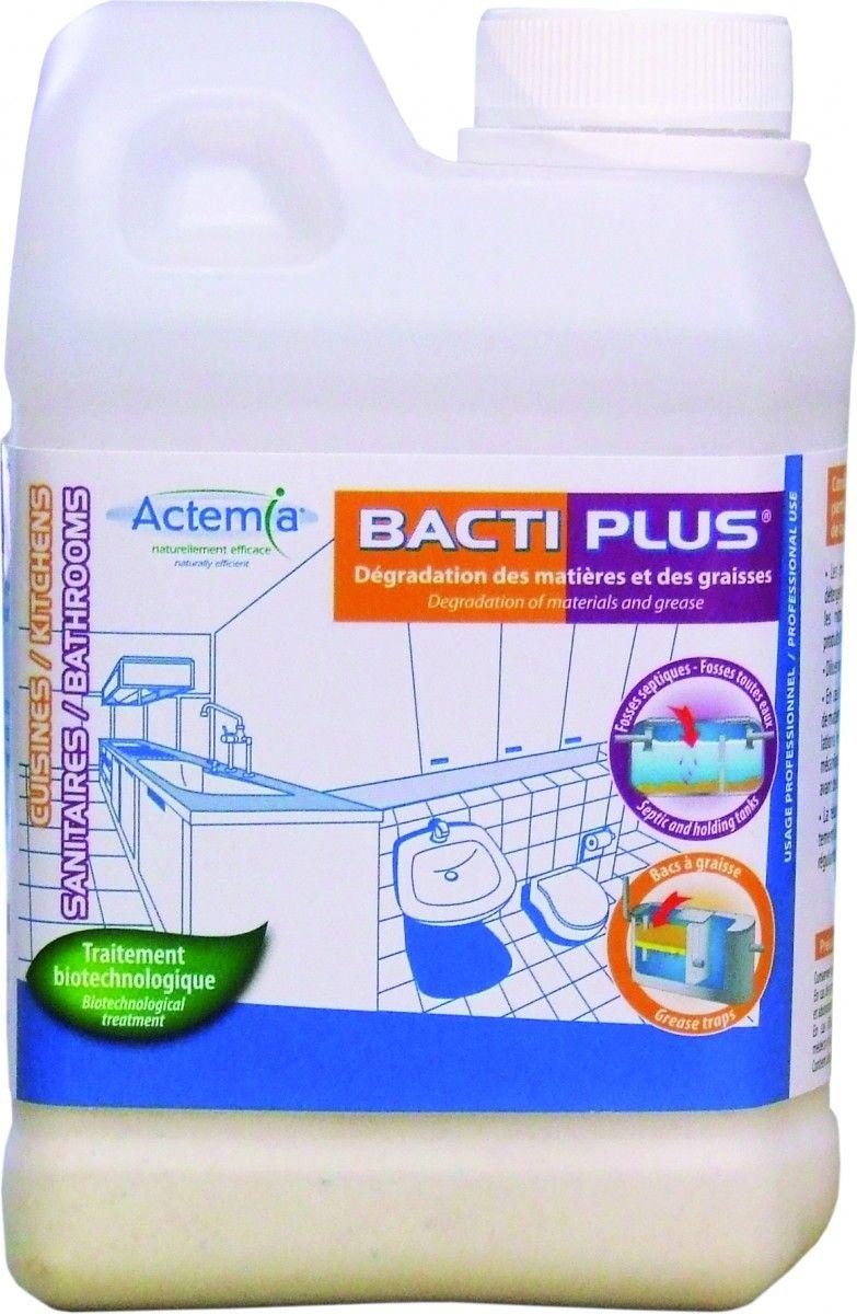 bacti plus traitement des odeurs bacs a graisse canalisations produit entretien. Black Bedroom Furniture Sets. Home Design Ideas