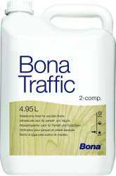 VITRIFICATEUR BONA TRAFFIC SATINE LE BIDON DE 4.95L